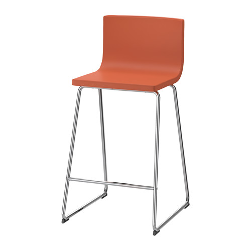 Tabouret ikea orange