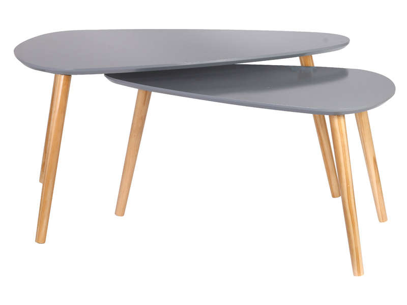 Table salon scandinave conforama