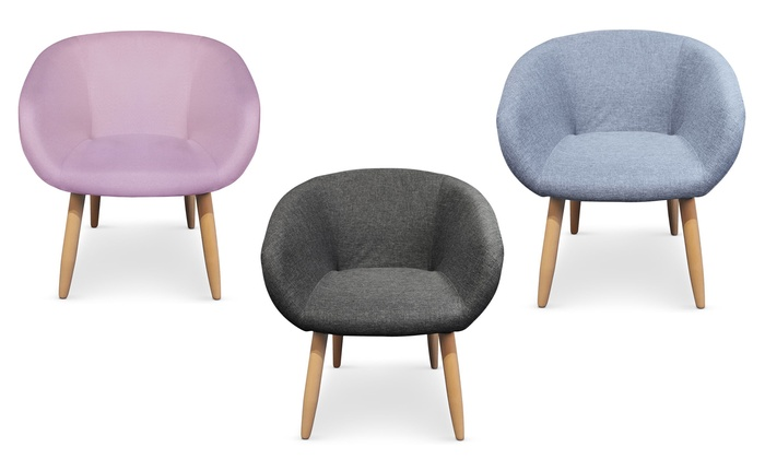Chaise et fauteuil scandinave