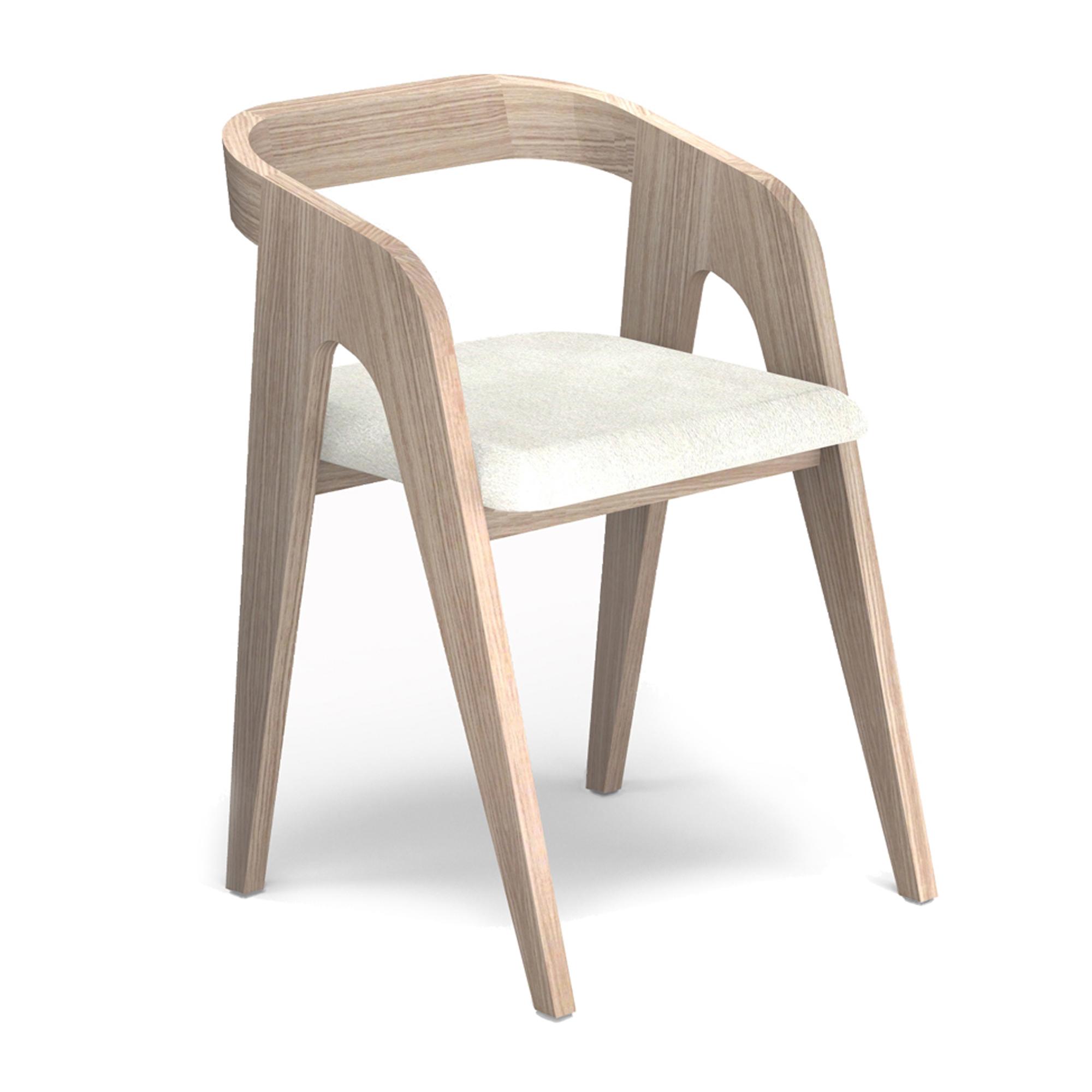 Chaise scandinave en bois