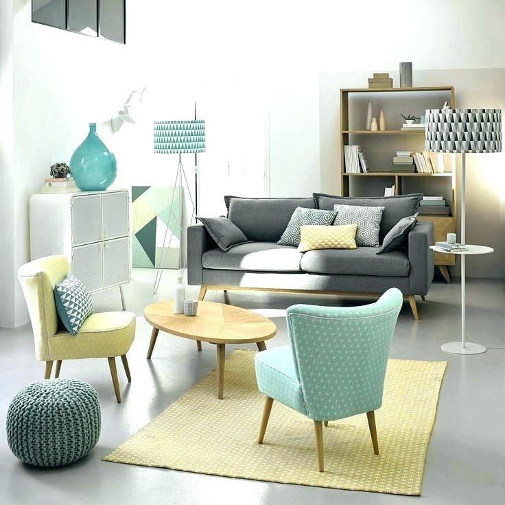 Salon style scandinave maison du monde
