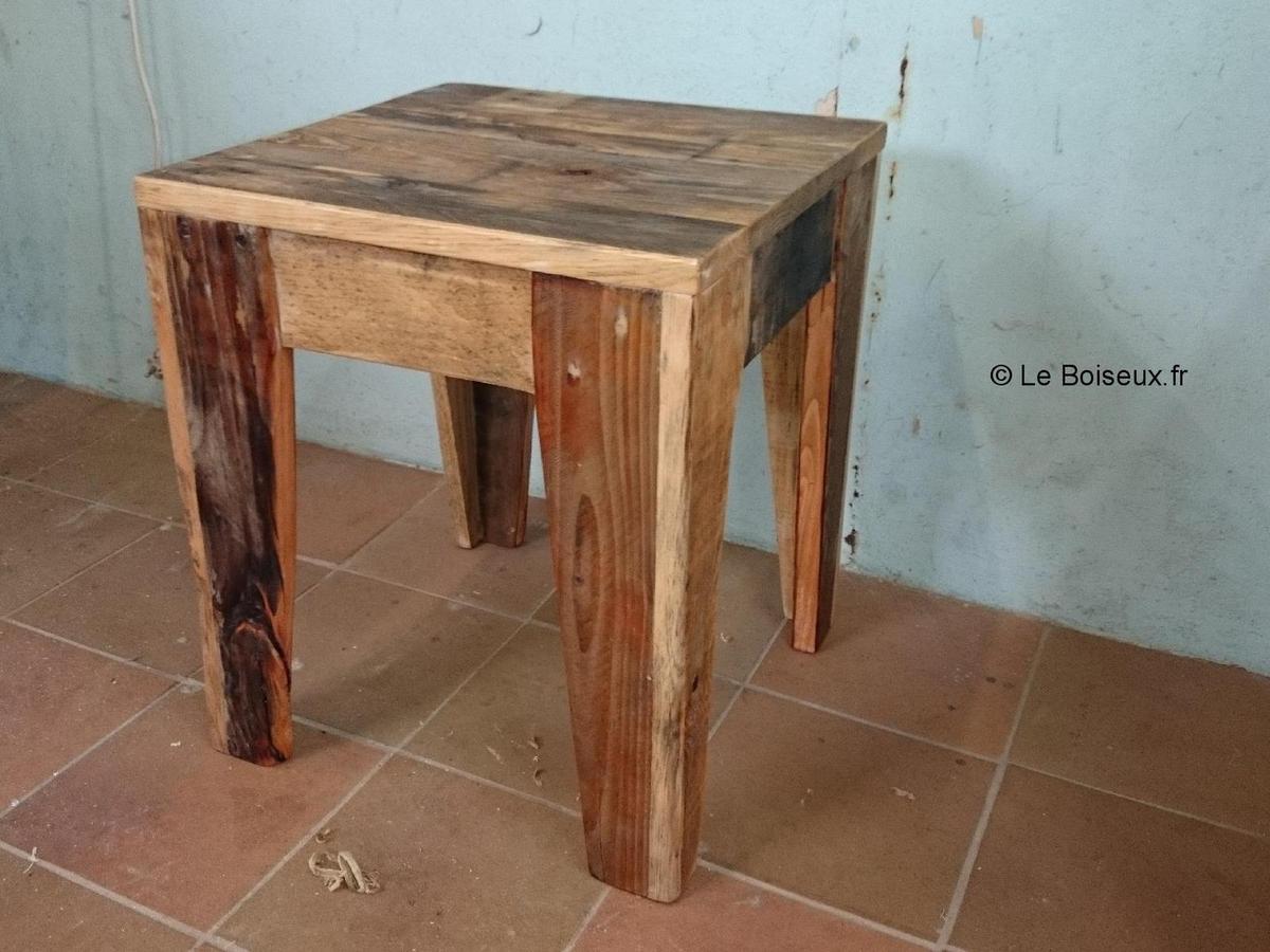 tabouret de bar bois palette. Black Bedroom Furniture Sets. Home Design Ideas