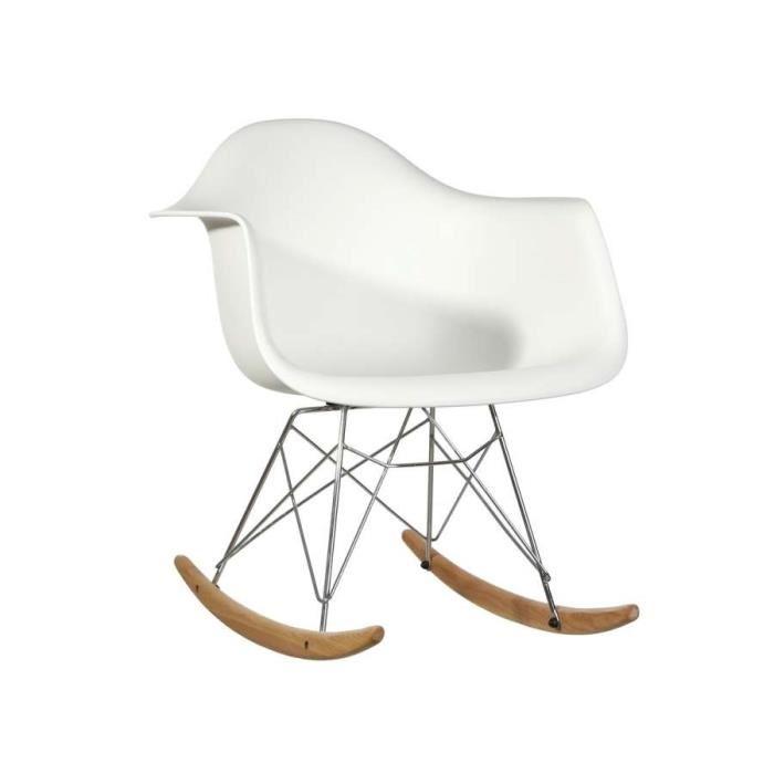 Chaise scandinave bascule enfant