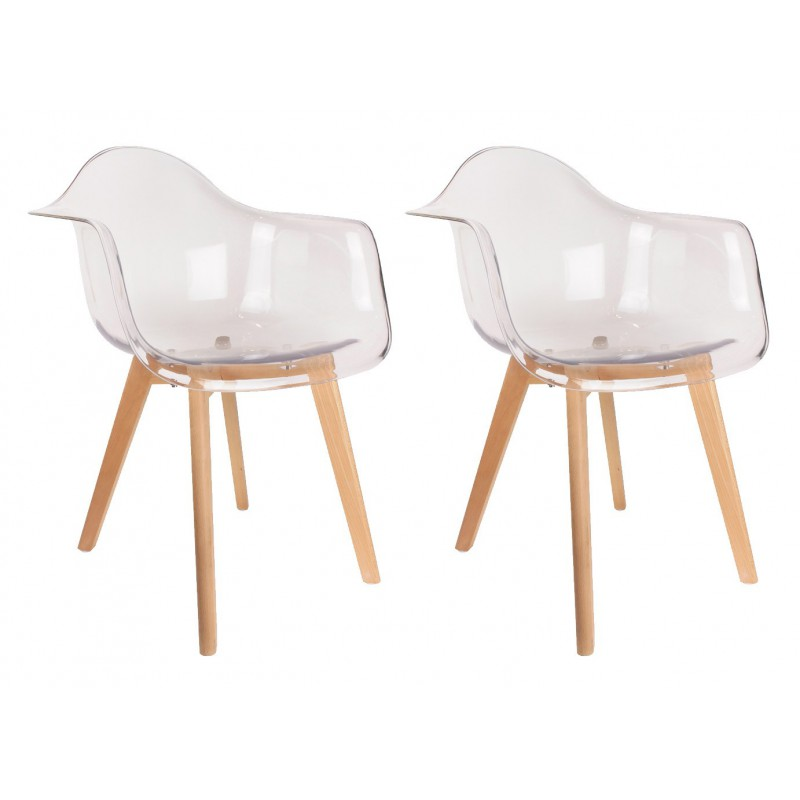 Fauteuil chaise scandinave