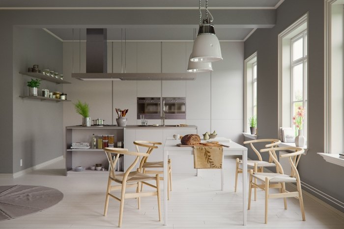 Deco scandinave taupe