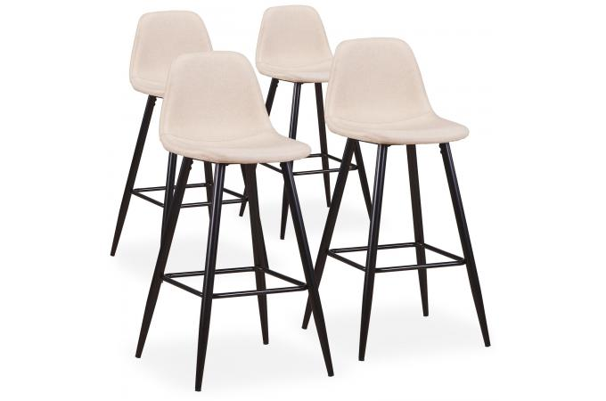 Tabouret de bar pas cher lot de 4