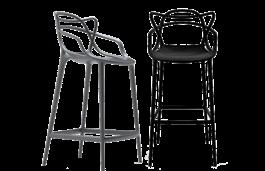tabouret de bar kartell masters. Black Bedroom Furniture Sets. Home Design Ideas