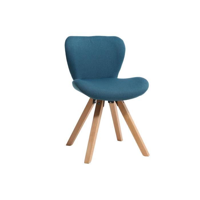 Chaise bois clair scandinave