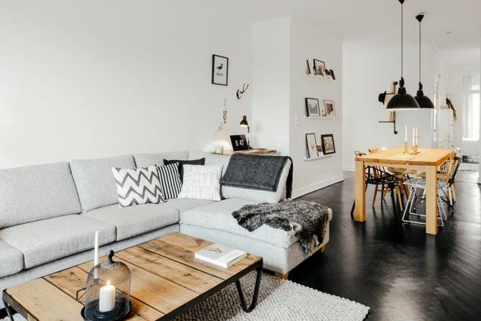 Photo salon style scandinave