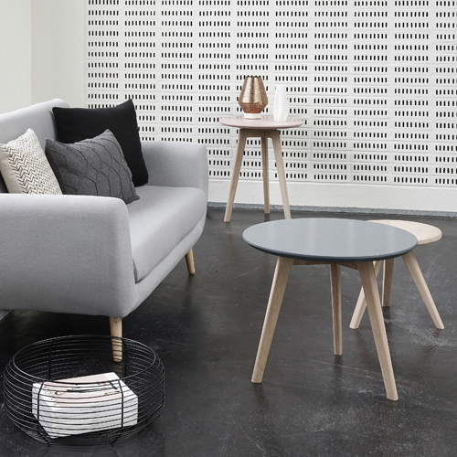 Quelle table pour un salon scandinave