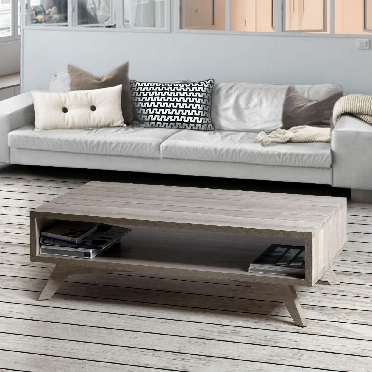 Table basse de salon scandinave