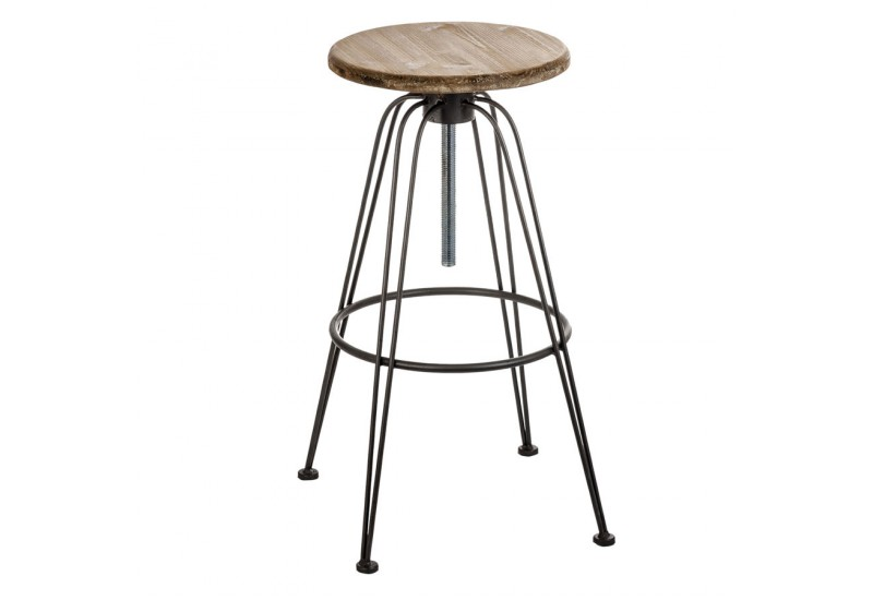 Tabouret industriel reglable