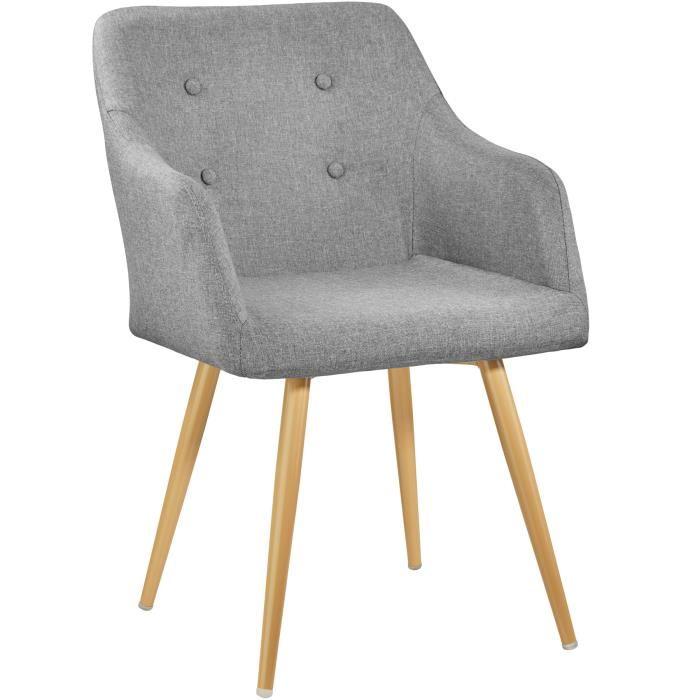Chaise dehoussable scandinave
