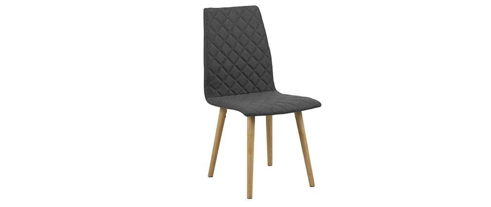 Chaise scandinave molletonne