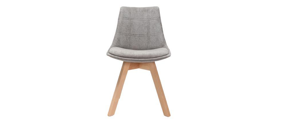 Chaise en bois design scandinave