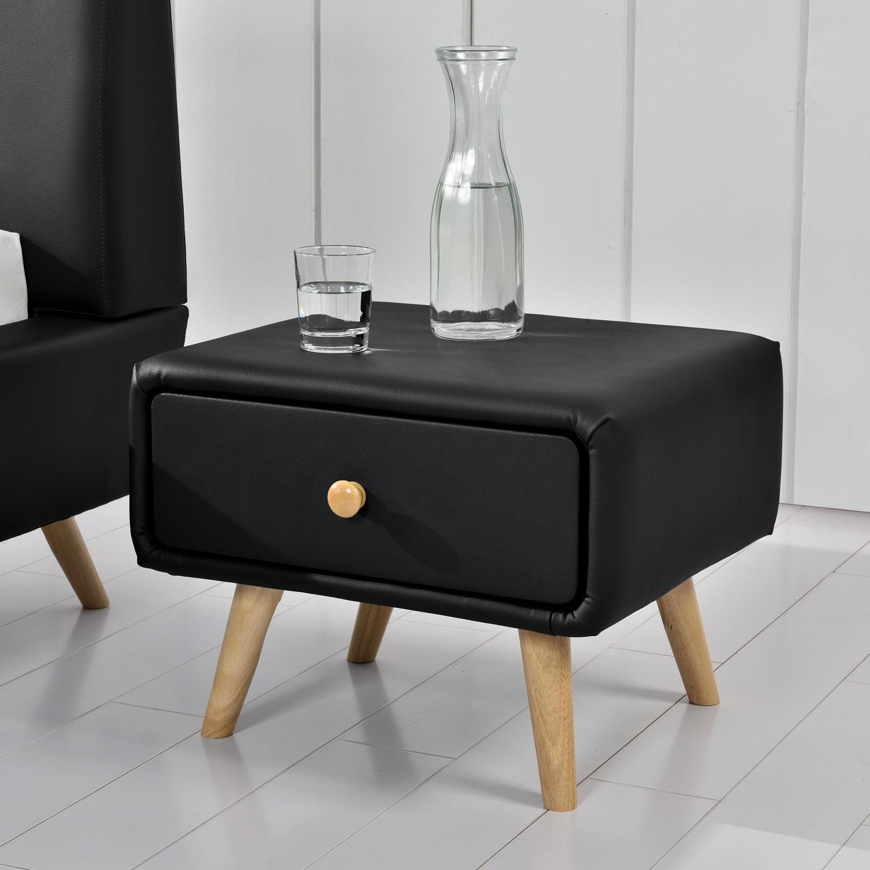 Table de chevet scandinave en bois