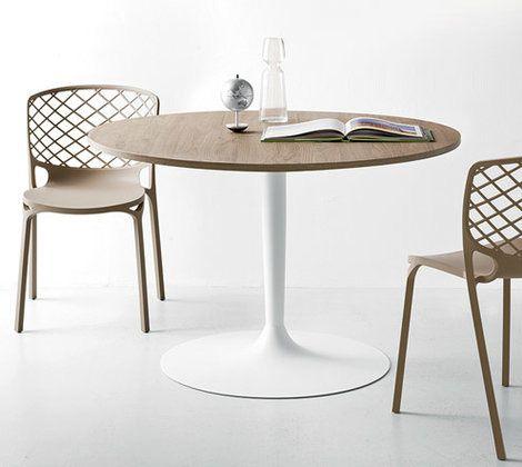 Table cuisine scandinave ovale