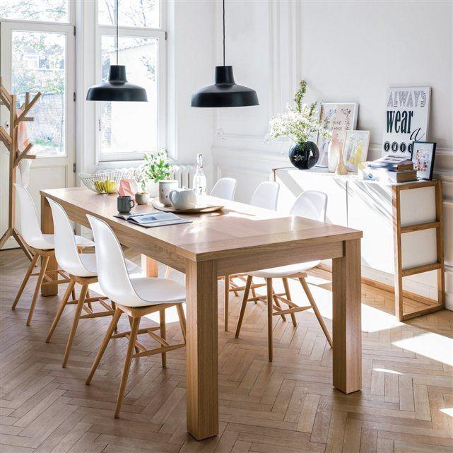 Table à manger et chaises style scandinave