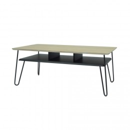 Table basse gris scandinave