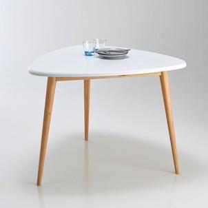 Table scandinave metal et bois