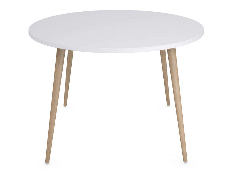 Table ronde inspiration scandinave