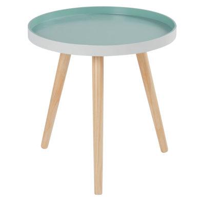 Table basse métal scandinave