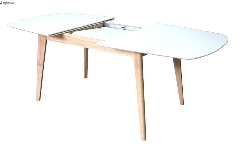 Table scandinave avec rallonge