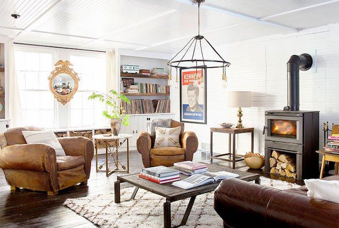 Deco style scandinave vintage