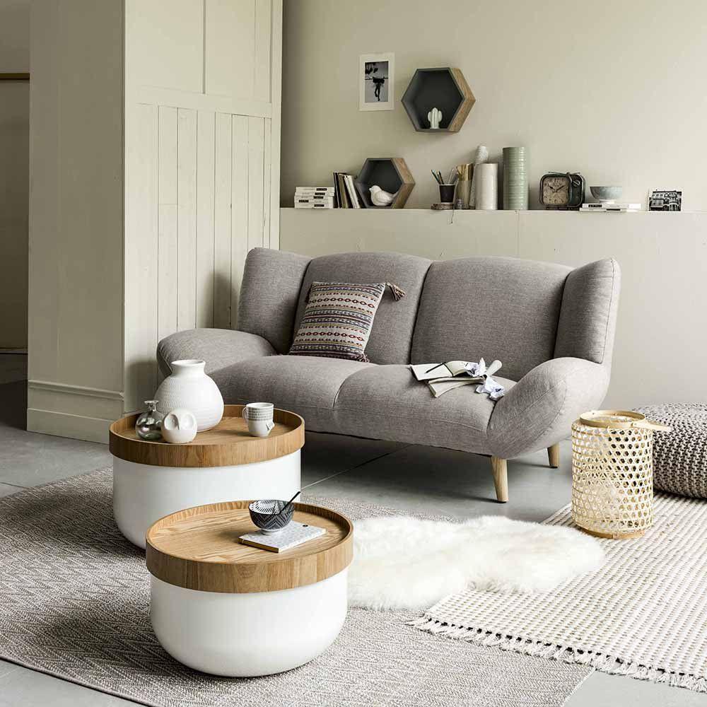 Chaises scandinave avec table