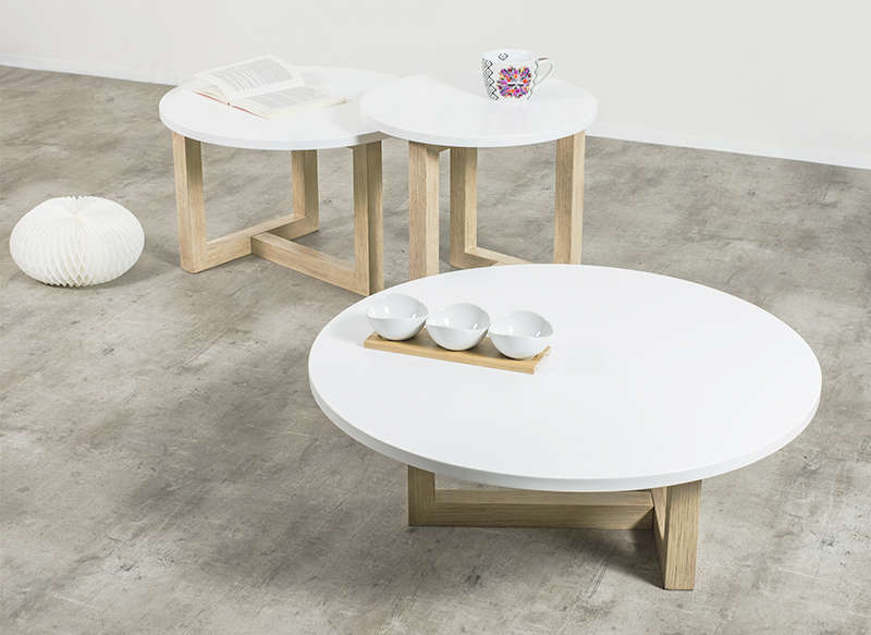 Table vasse scandinave
