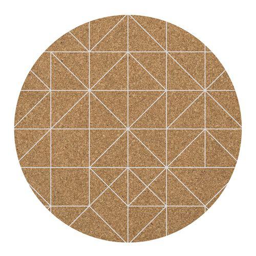 Set de table motif scandinave