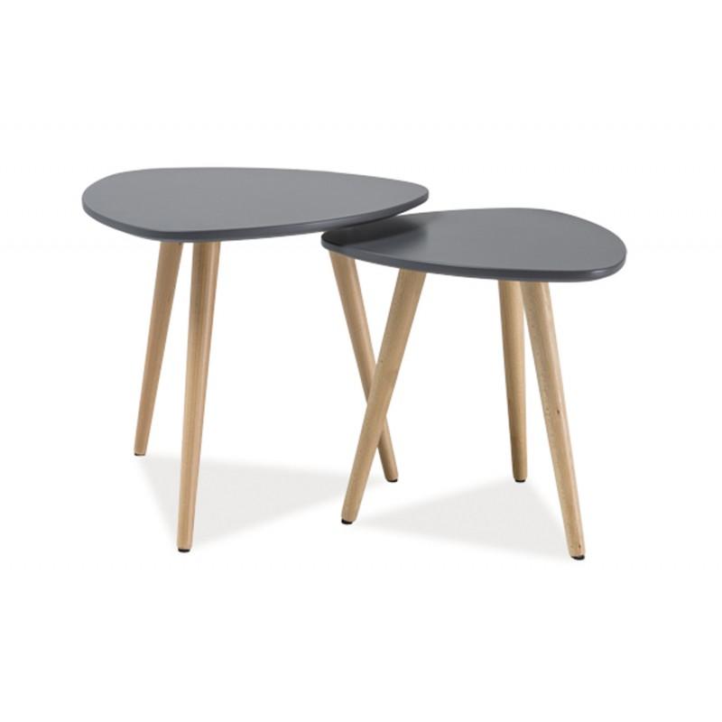 Pieds pour table basse scandinave