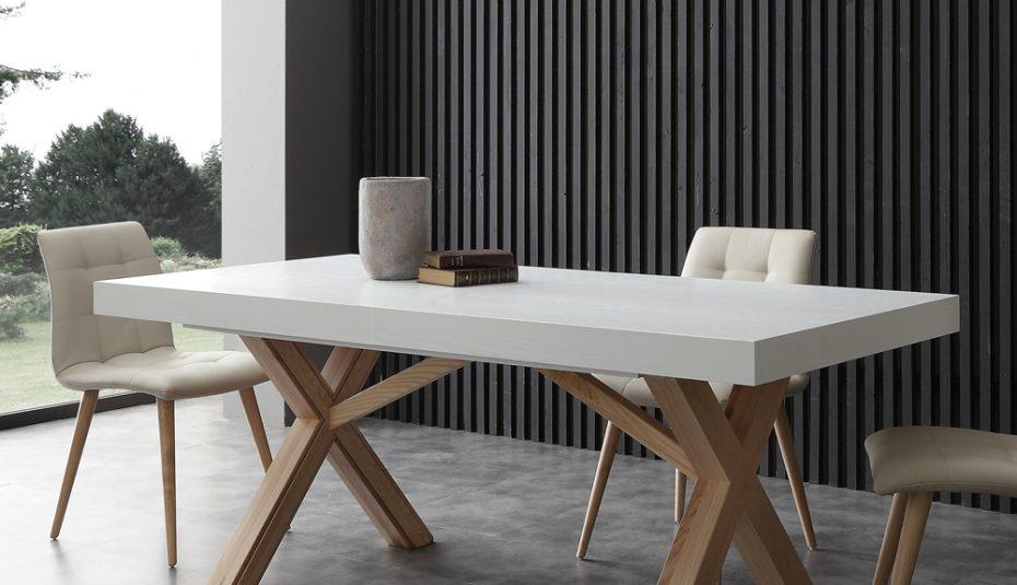Table carrée salle à manger scandinave - ladolceviedchat.fr