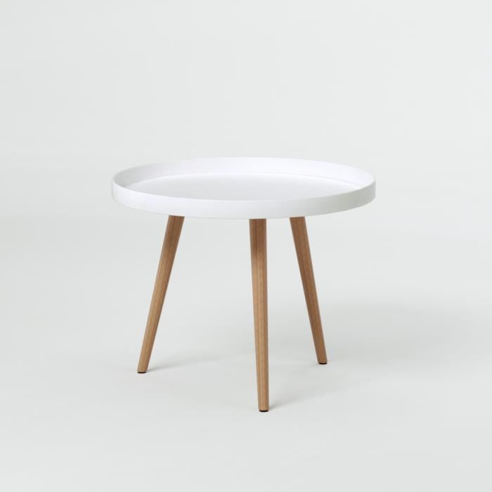 Table basse scandinave couleur bois