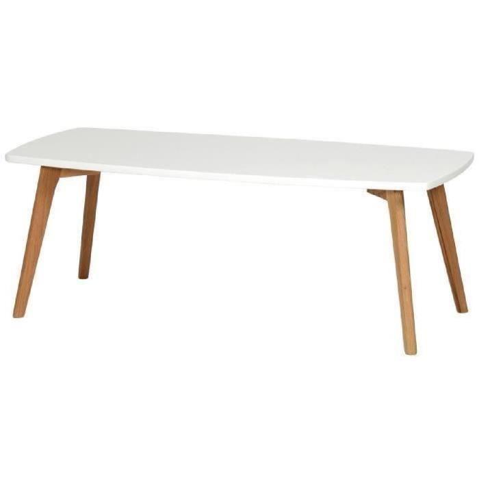 Table scandinave chêne massif