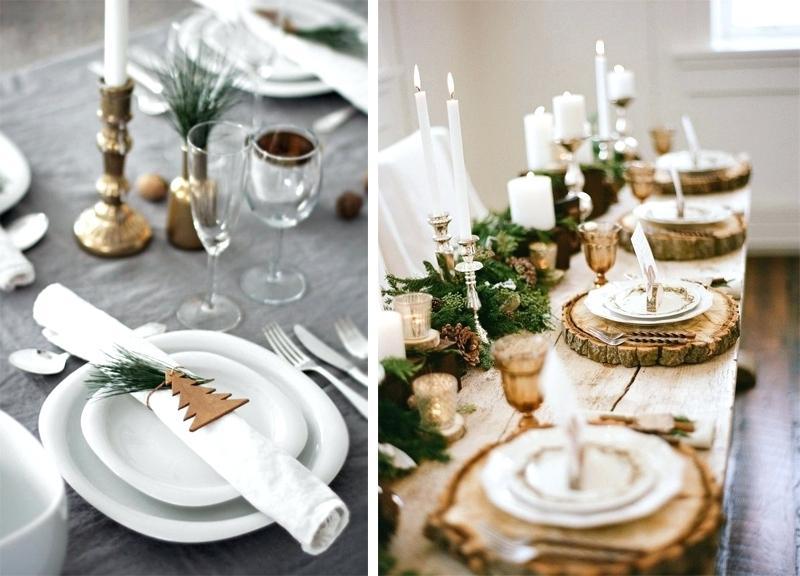 Decor de table scandinave