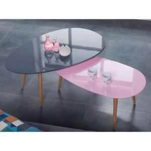 Table scandinave pastel