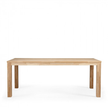 Table scandinave chêne