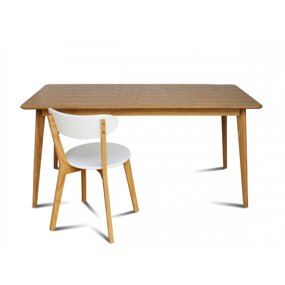 Table a manger chene massif scandinave