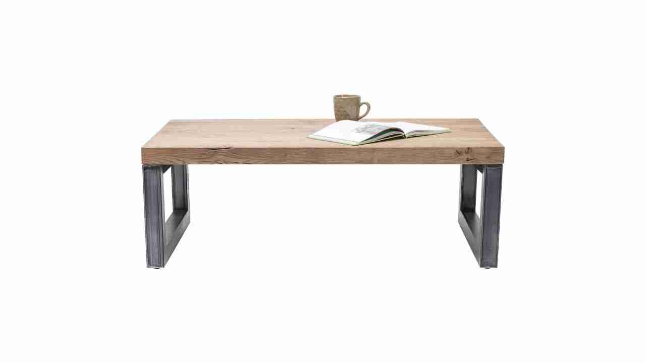 Table basse scandinave bois naturel baltik