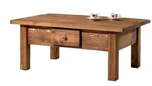 Table basse scandinave brocante