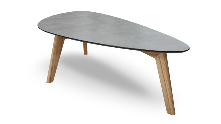 Table basse scandinave chocolat
