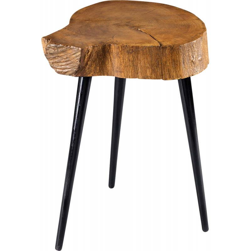 Table en bois brut scandinave