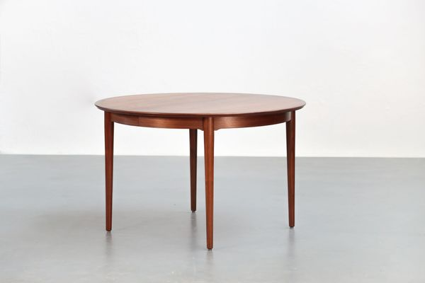 Table salle a manger scandinave 1960