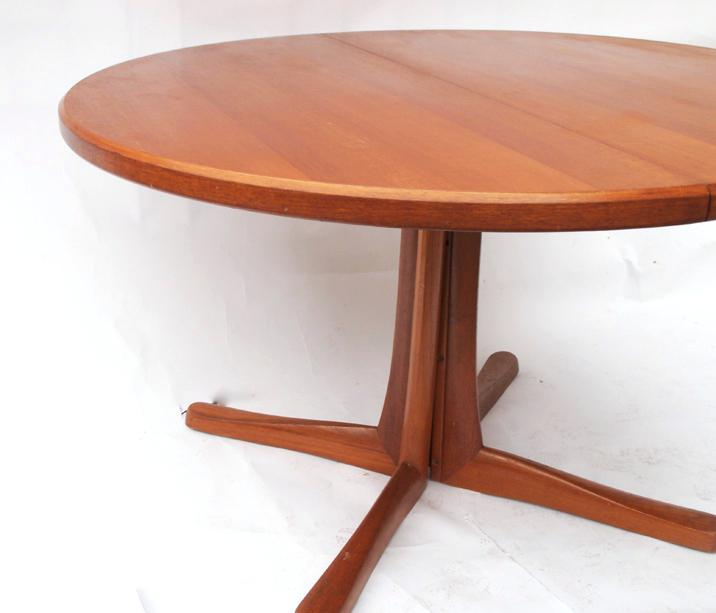 Table ronde pied scandinave