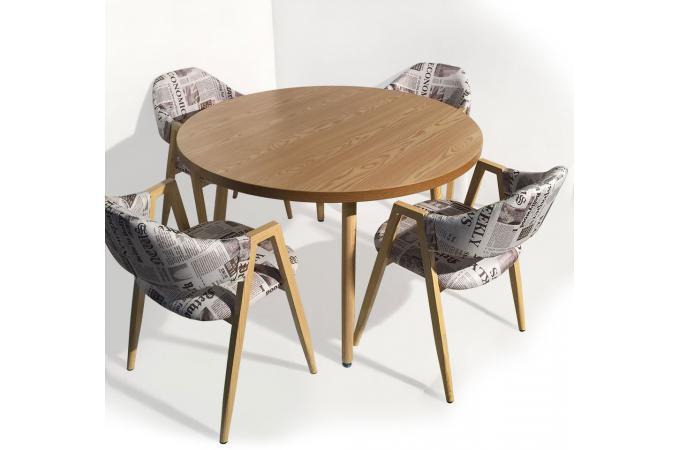 Table design scandinave ronde