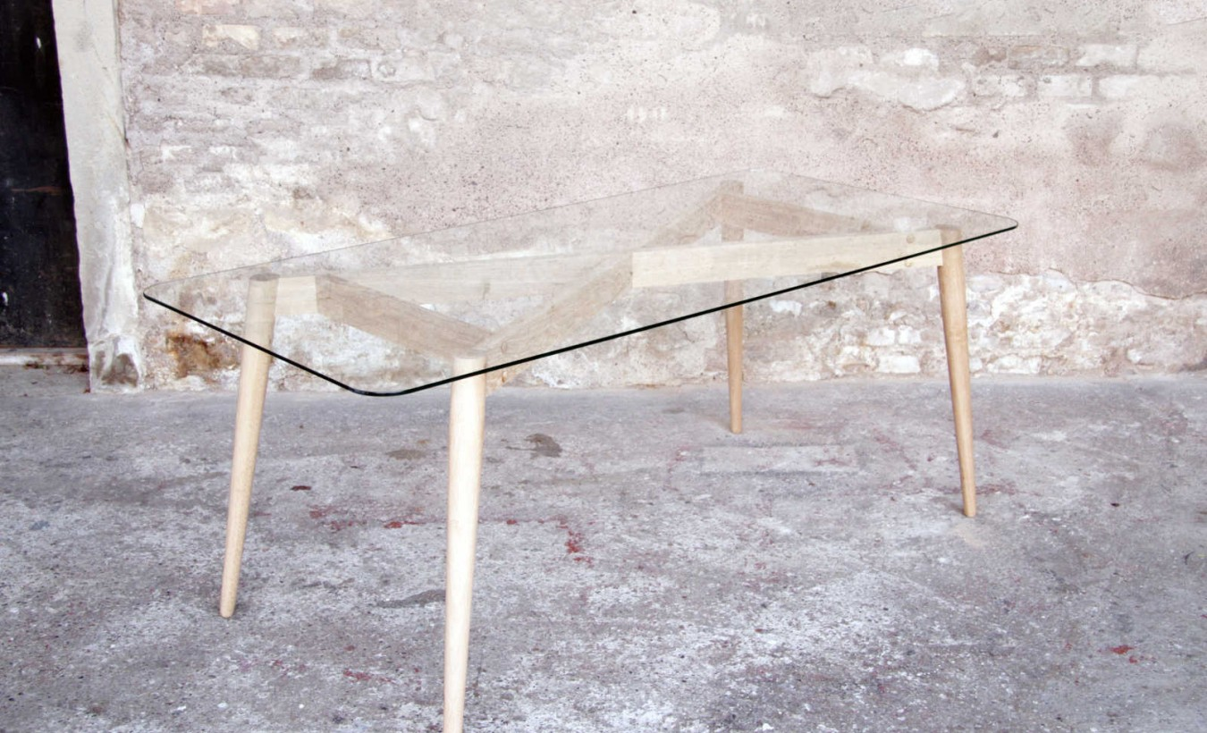 Table sur mesure scandinave