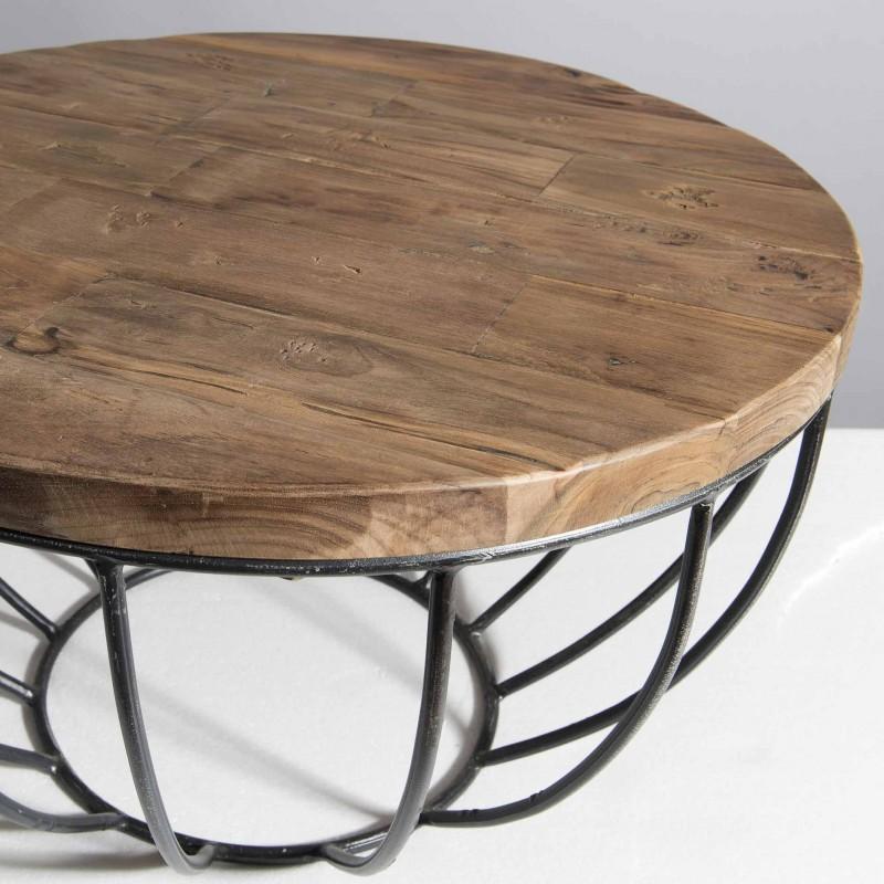 Table basse ronde hauteur 60 cm