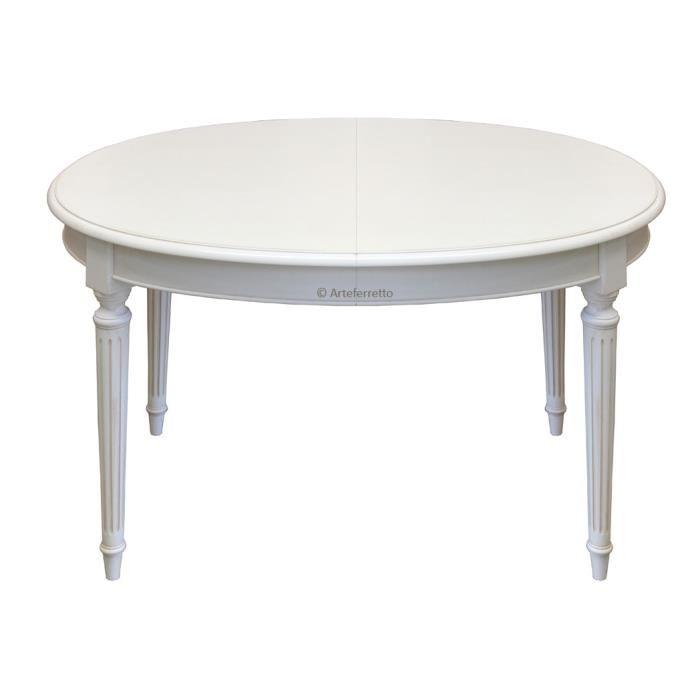 Table basse ronde louis xvi