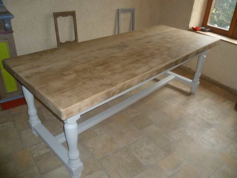 Table basse basse bois